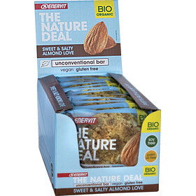 Enervit Nature Deal UncBar Box 12 x 50g süße/salzige Mandel